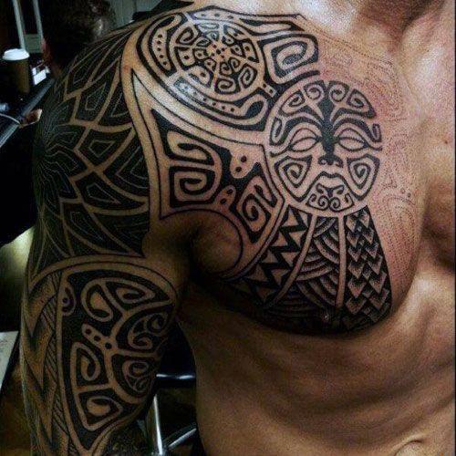 Back Shoulder Tattoo Designs Ideas (47)