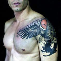 Back Shoulder Tattoo Designs Ideas (63)