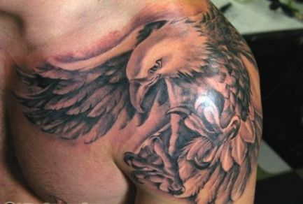 Back Shoulder Tattoo Designs Ideas (67)