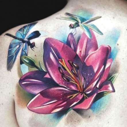 Back Shoulder Tattoo Designs Ideas (68)