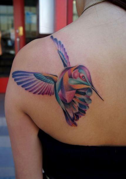 Back Shoulder Tattoo Designs Ideas (72)