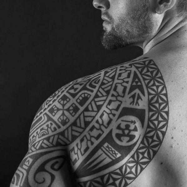 Back Shoulder Tattoo Designs Ideas (78)