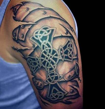 Back Shoulder Tattoo Designs Ideas (8)