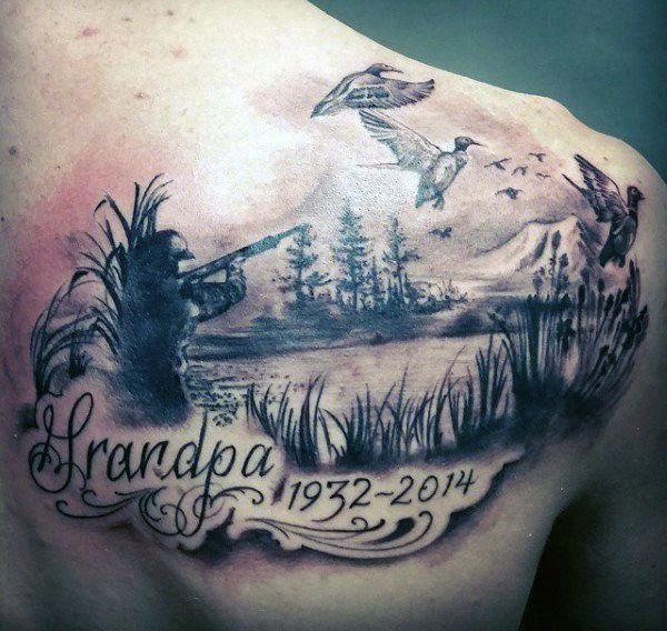 Back Shoulder Tattoo Designs Ideas (81)