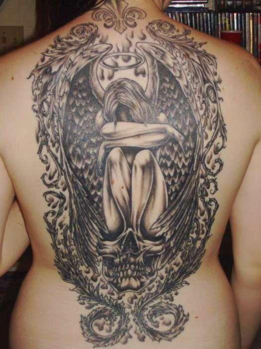 Back Shoulder Tattoo Designs Ideas (86)
