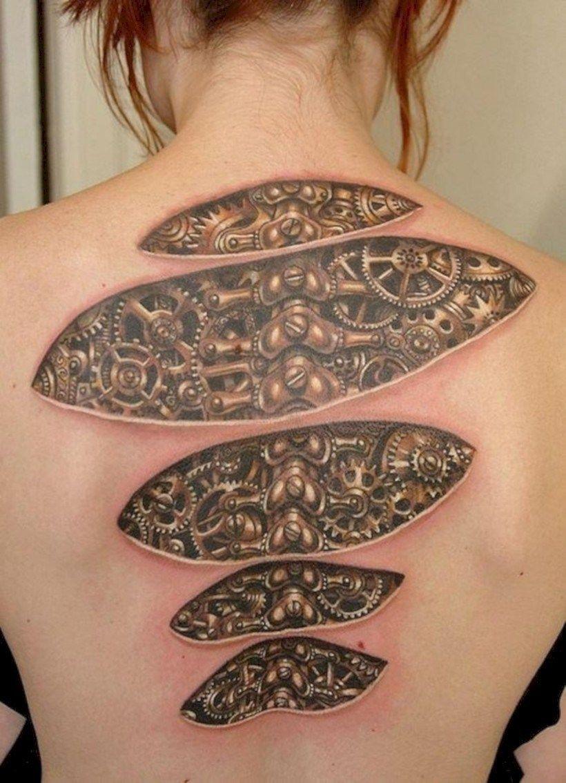 Back Shoulder Tattoo Designs Ideas (95)