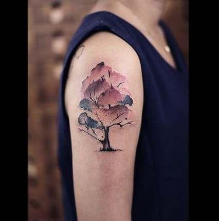Back Shoulder Tattoo Designs Ideas (96)