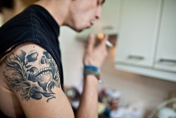 Back Shoulder Tattoo Designs Ideas (99)