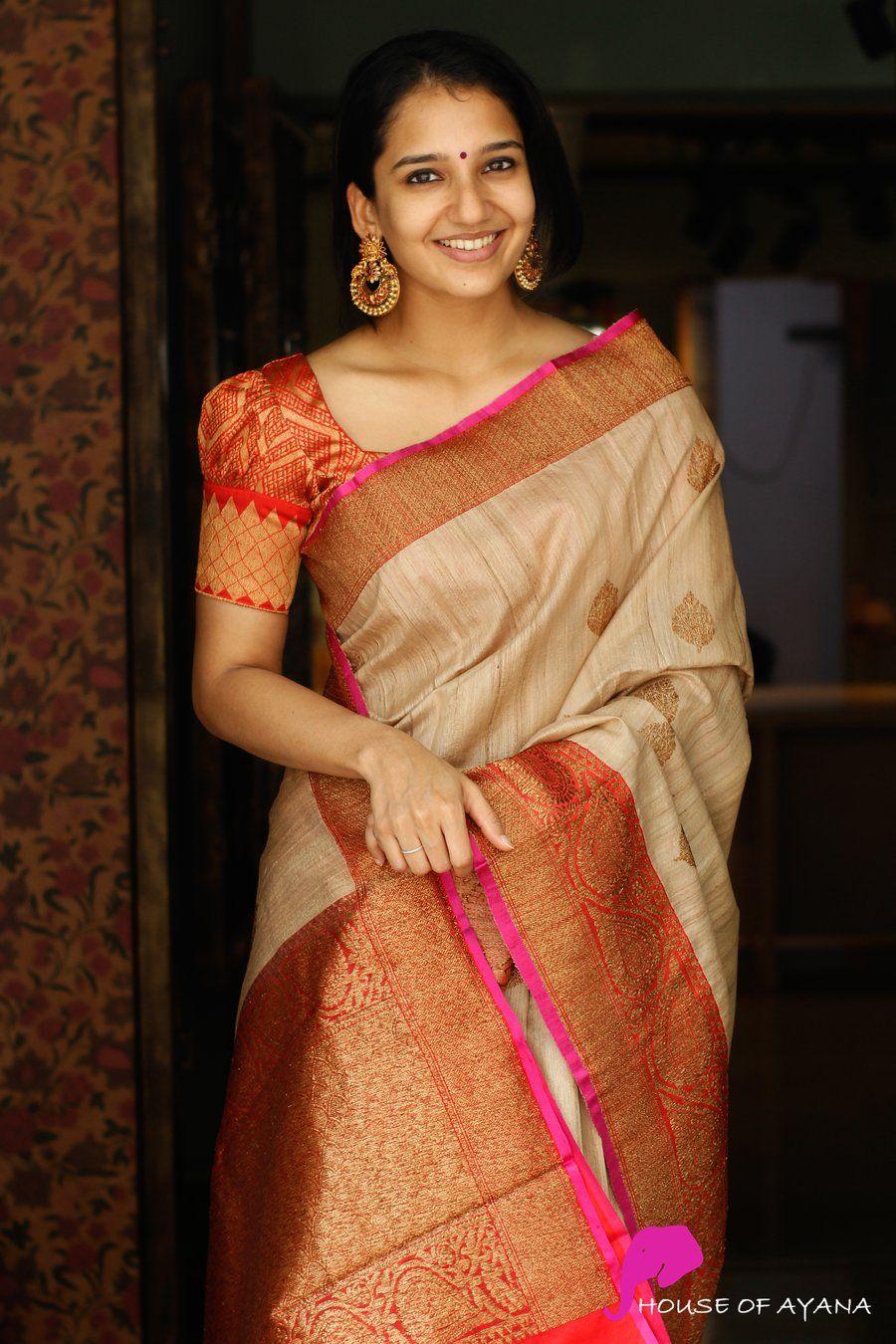Blouse Designs For Pattu Silk Sarees (102)