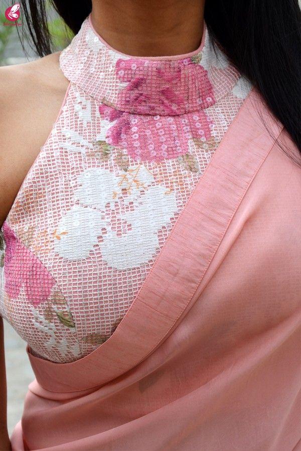Blouse Designs For Pattu Silk Sarees (106)