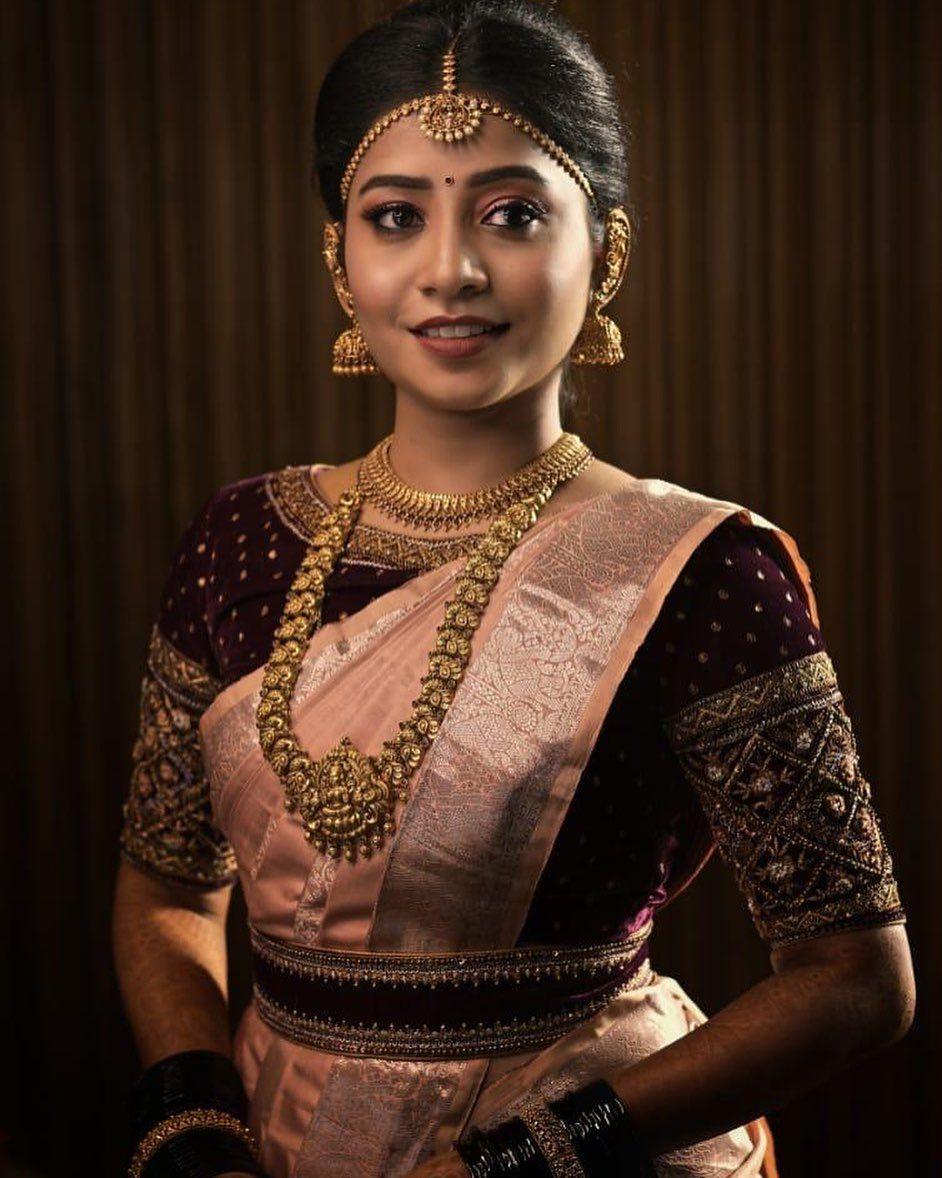 Blouse Designs For Pattu Silk Sarees (107)