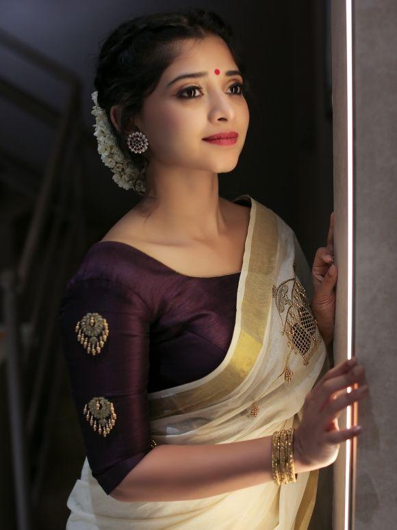 Blouse Designs For Pattu Silk Sarees (118)