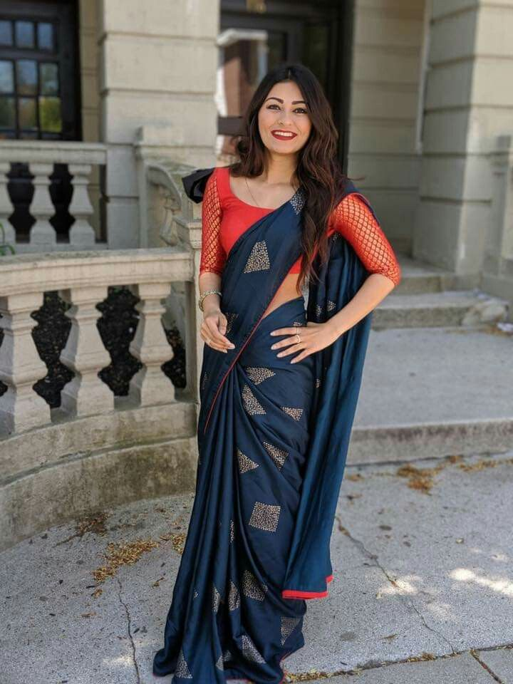 Blouse Designs For Pattu Silk Sarees (12)