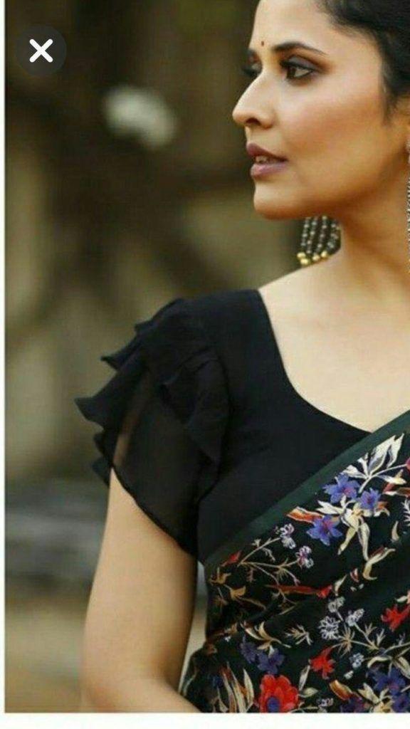 Blouse Designs For Pattu Silk Sarees (132)