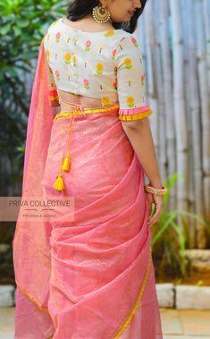 Blouse Designs For Pattu Silk Sarees (15)