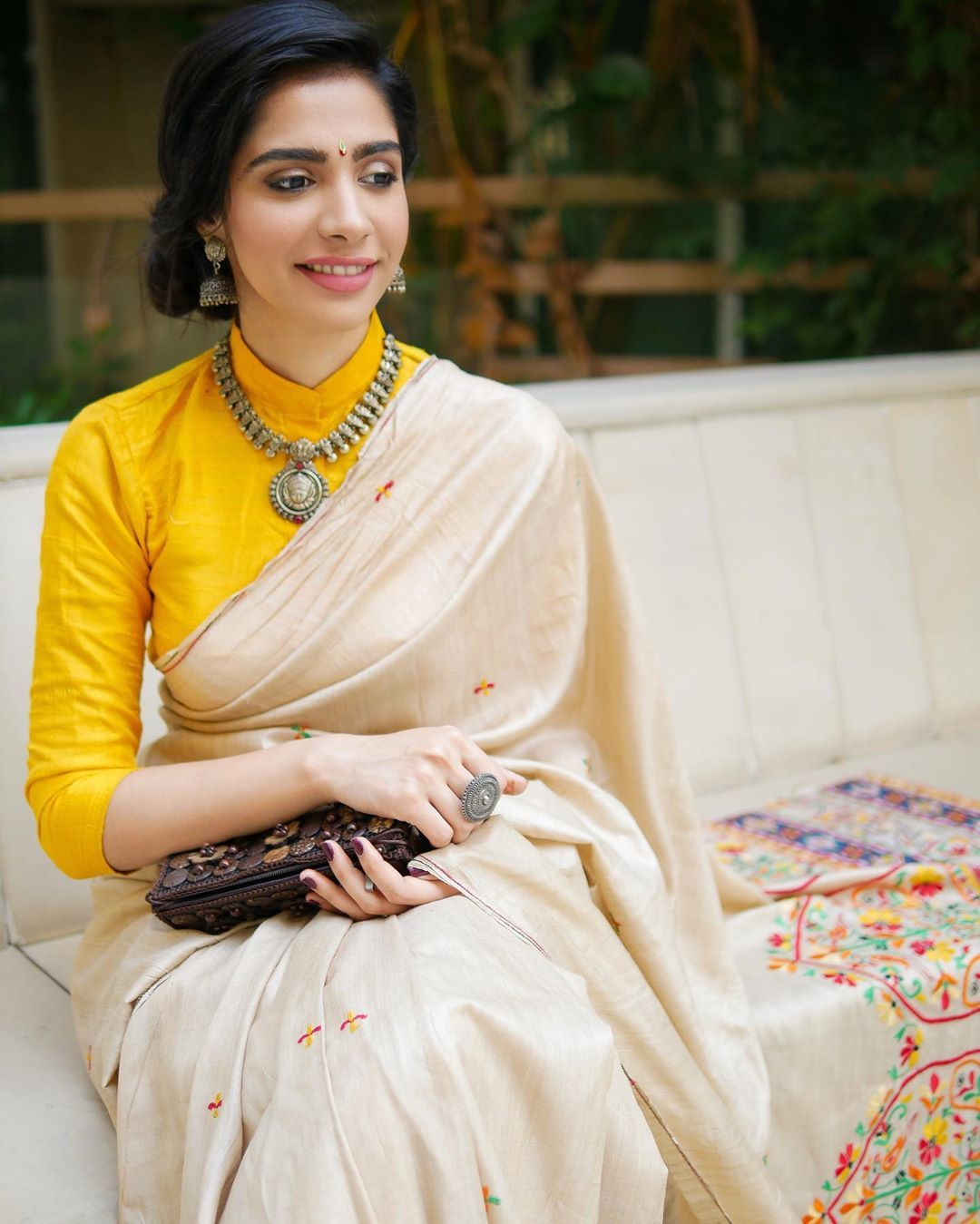 Blouse Designs For Pattu Silk Sarees (155)