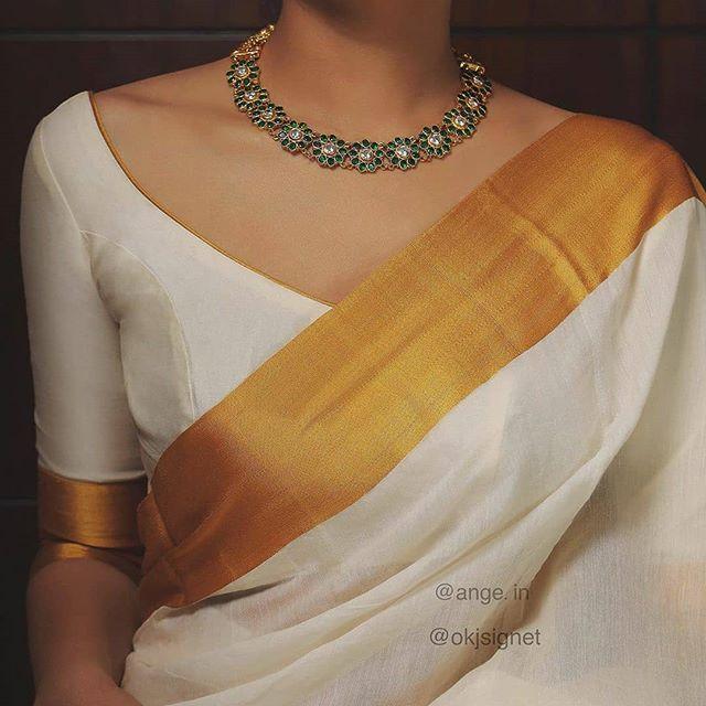 Blouse Designs For Pattu Silk Sarees (161)