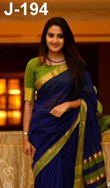Blouse Designs For Pattu Silk Sarees (163)