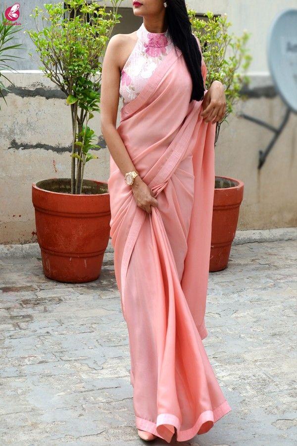 Blouse Designs For Pattu Silk Sarees (164)