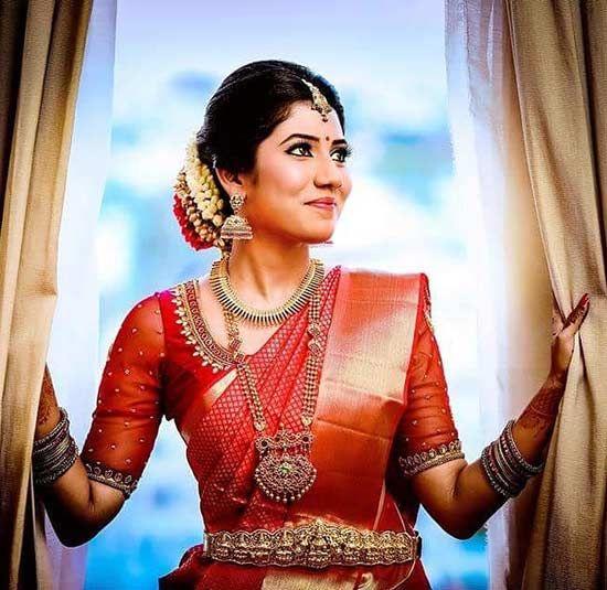 Blouse Designs For Pattu Silk Sarees (166)