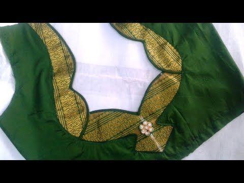Blouse Designs For Pattu Silk Sarees (167)