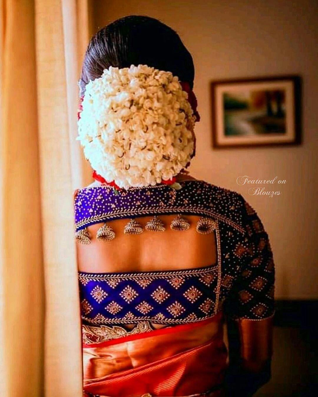 Blouse Designs For Pattu Silk Sarees (172)