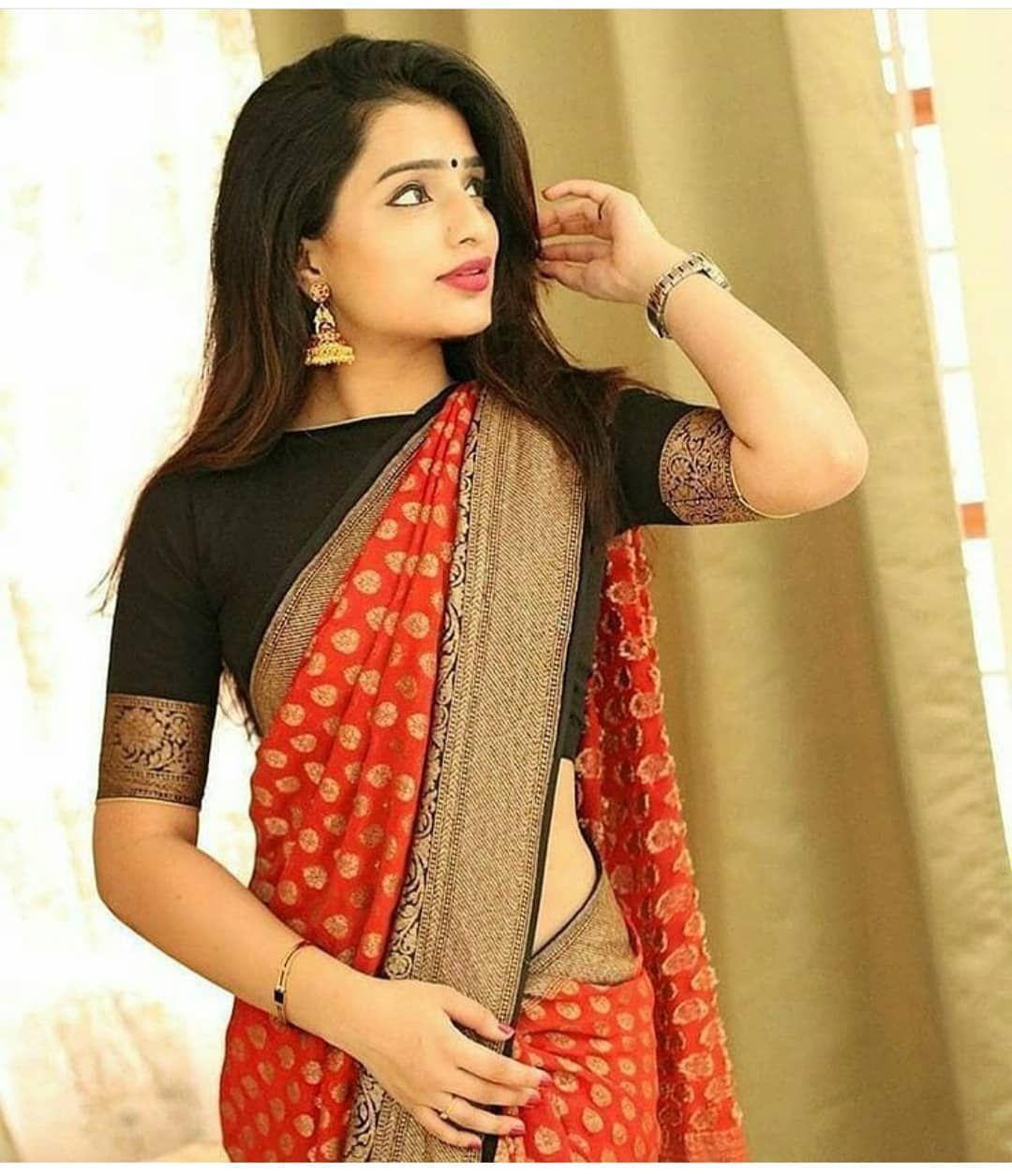 Blouse Designs For Pattu Silk Sarees (178)
