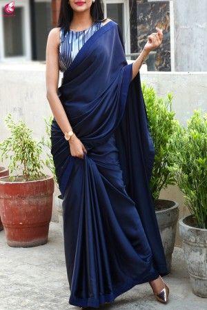 Blouse Designs For Pattu Silk Sarees (189)