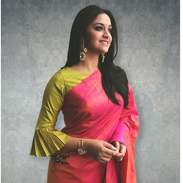 Blouse Designs For Pattu Silk Sarees (195)