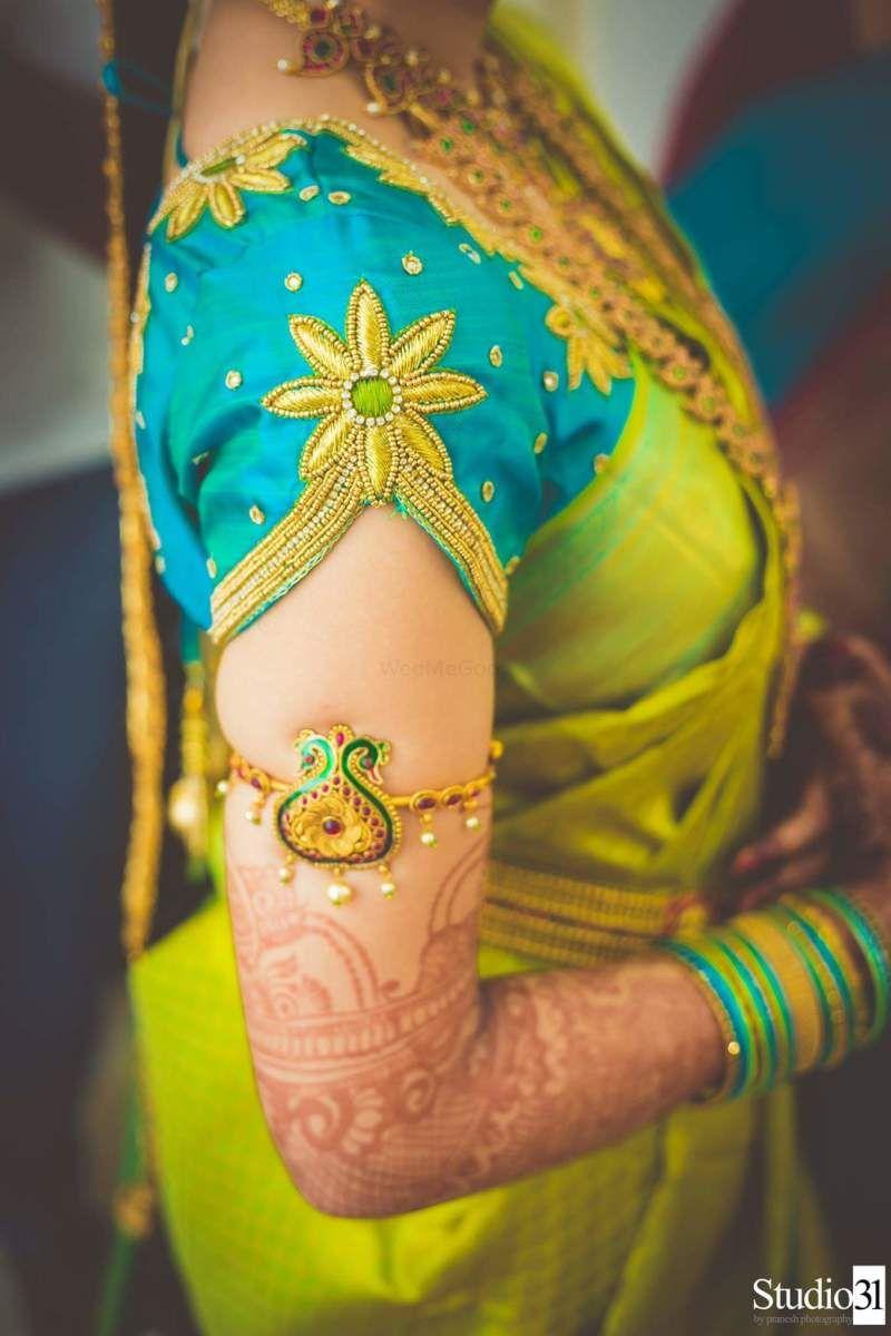Blouse Designs For Pattu Silk Sarees (2)