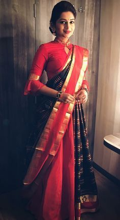 Blouse Designs For Pattu Silk Sarees (20)