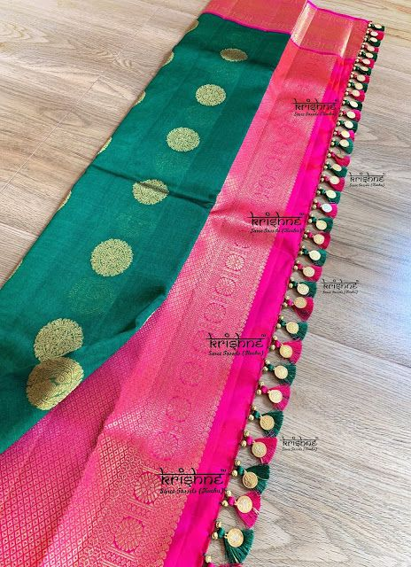 Blouse Designs For Pattu Silk Sarees (211)
