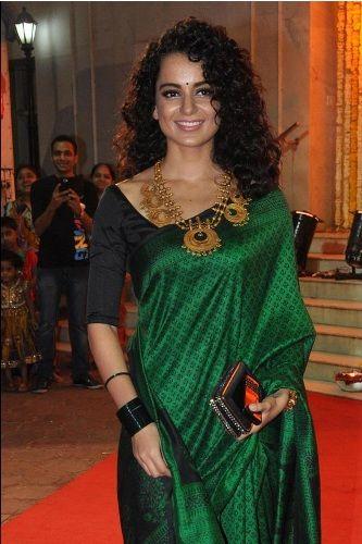 Blouse Designs For Pattu Silk Sarees (218)