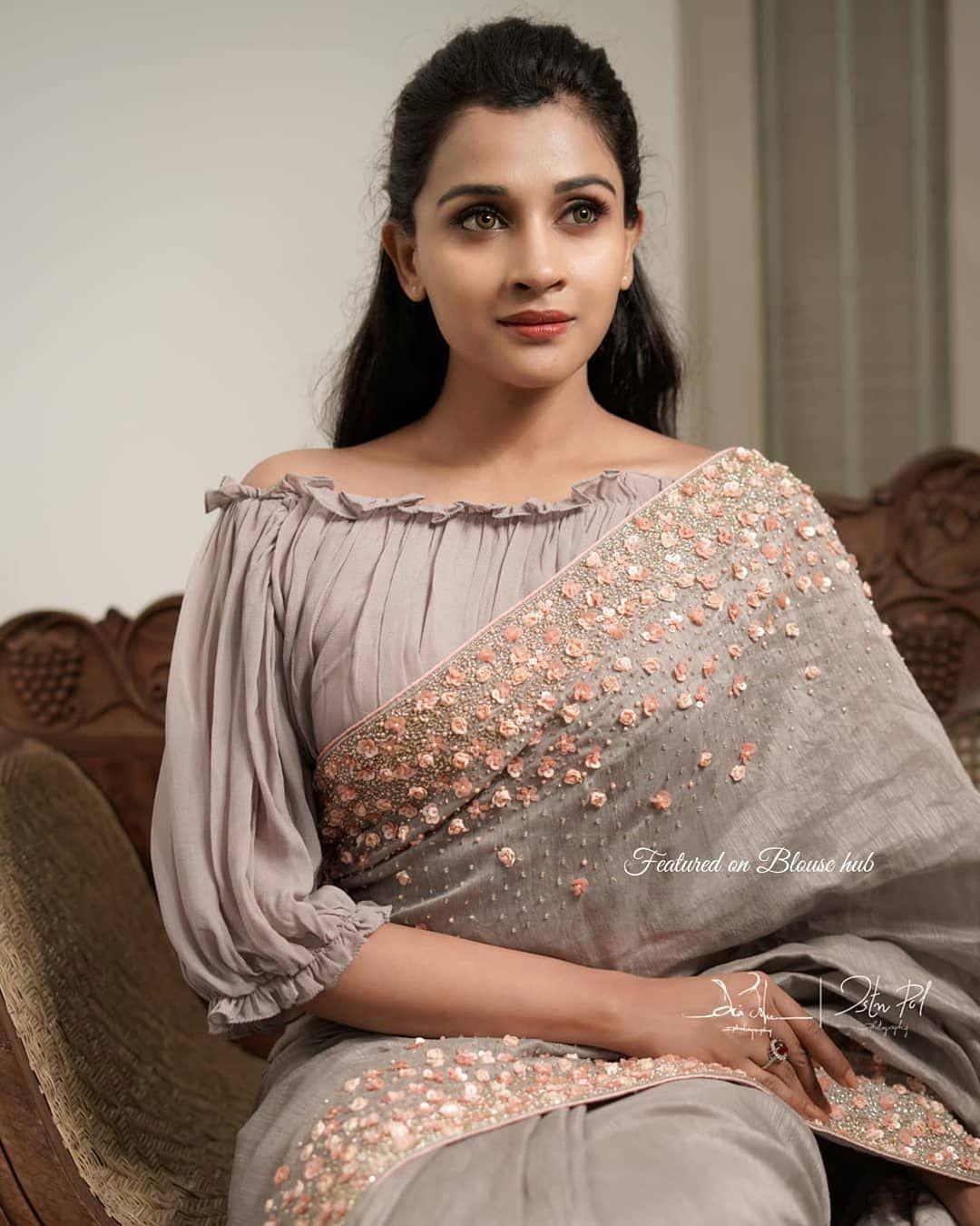 Blouse Designs For Pattu Silk Sarees (23)