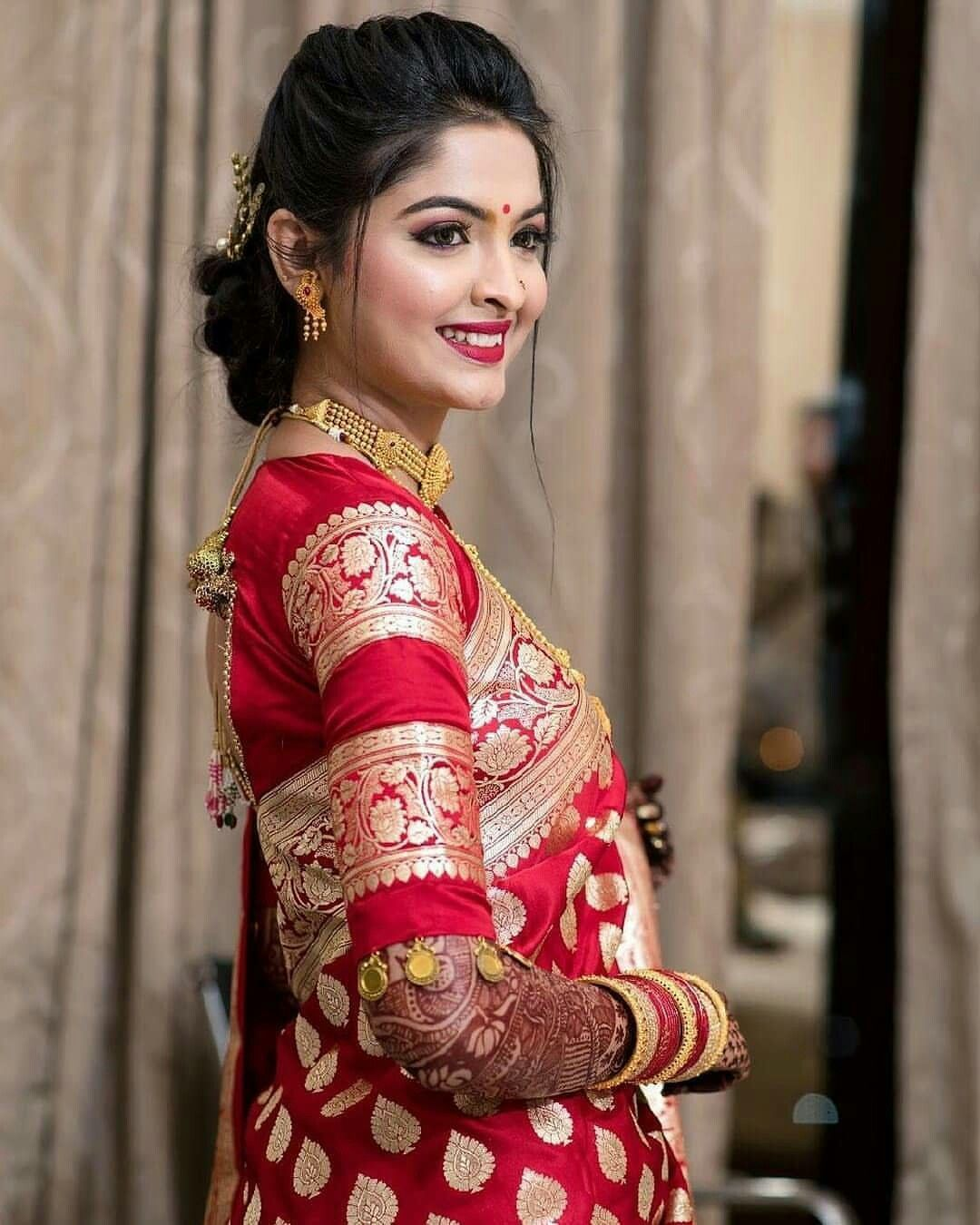 Blouse Designs For Pattu Silk Sarees (231)