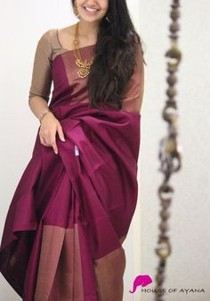 Blouse Designs For Pattu Silk Sarees (232)