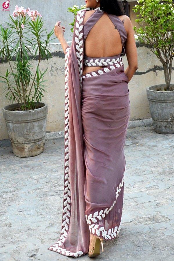 Blouse Designs For Pattu Silk Sarees (24)