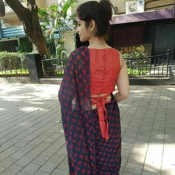 Blouse Designs For Pattu Silk Sarees (240)