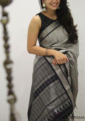 Blouse Designs For Pattu Silk Sarees (25)