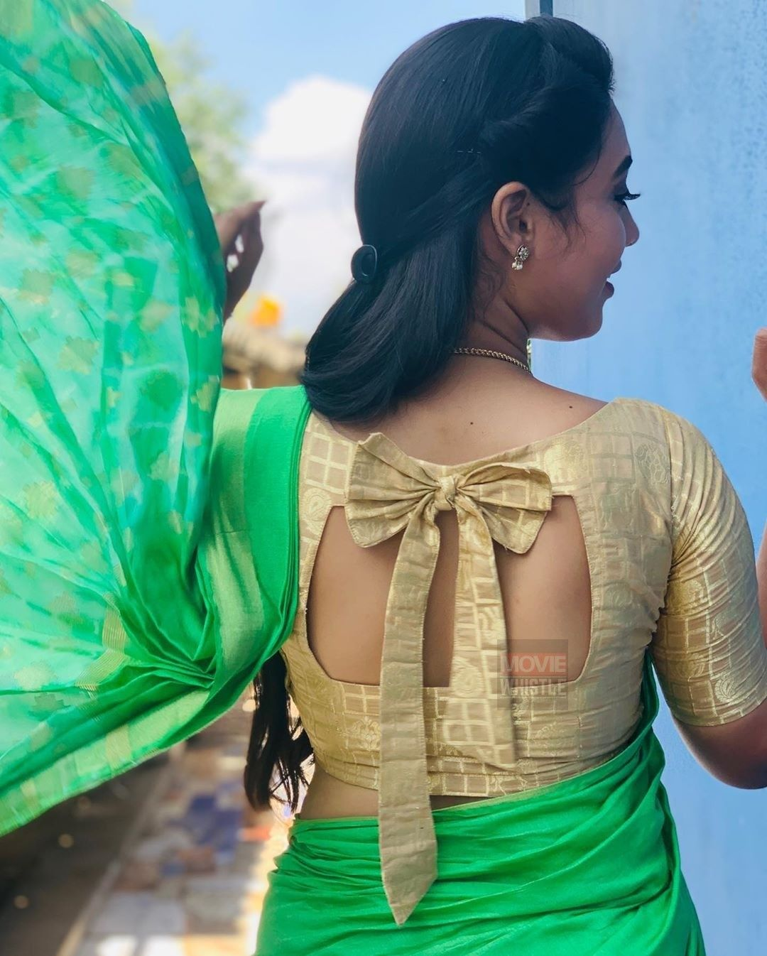 Blouse Designs For Pattu Silk Sarees (28)