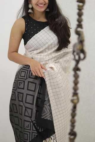 Blouse Designs For Pattu Silk Sarees (32)