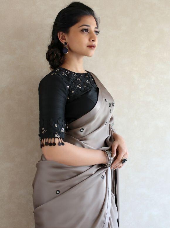 Blouse Designs For Pattu Silk Sarees (52)