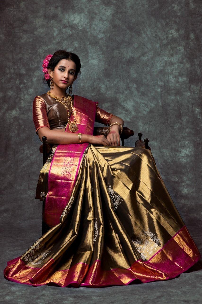 Blouse Designs For Pattu Silk Sarees (55)