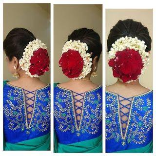 Blouse Designs For Pattu Silk Sarees (84)