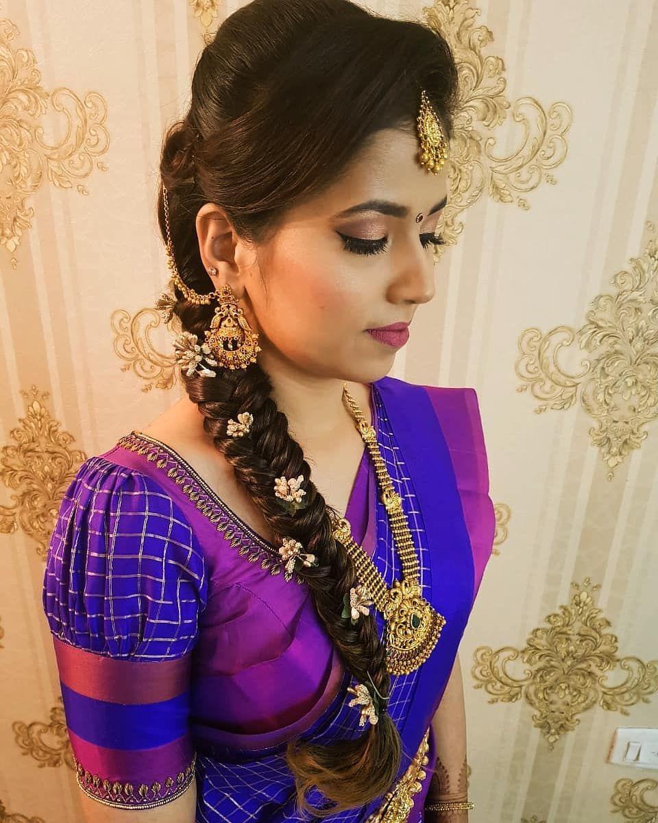 Blouse Designs For Pattu Silk Sarees (85)