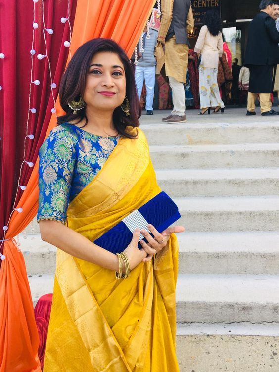 Blouse Designs For Pattu Silk Sarees (91)