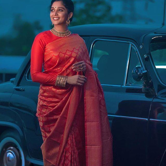Blouse Designs For Pattu Silk Sarees (96)