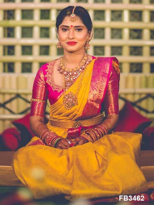 Blouse Designs For Pattu Silk Sarees (98)