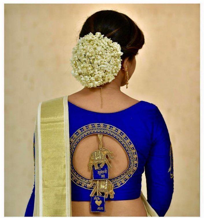 blouse designs for pattu silk sarees