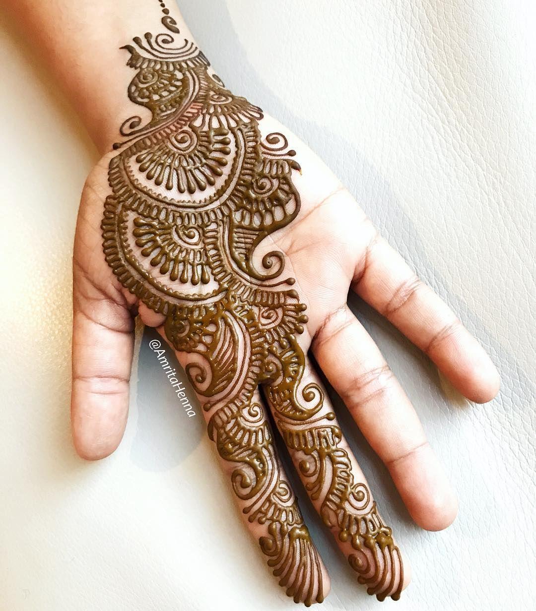 Easy Mehndi Designs Simple Latest (100)